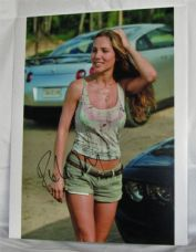 "A568EP ELSA PATAKY - ""FAST & FURIOUS 6"" SIGNED"
